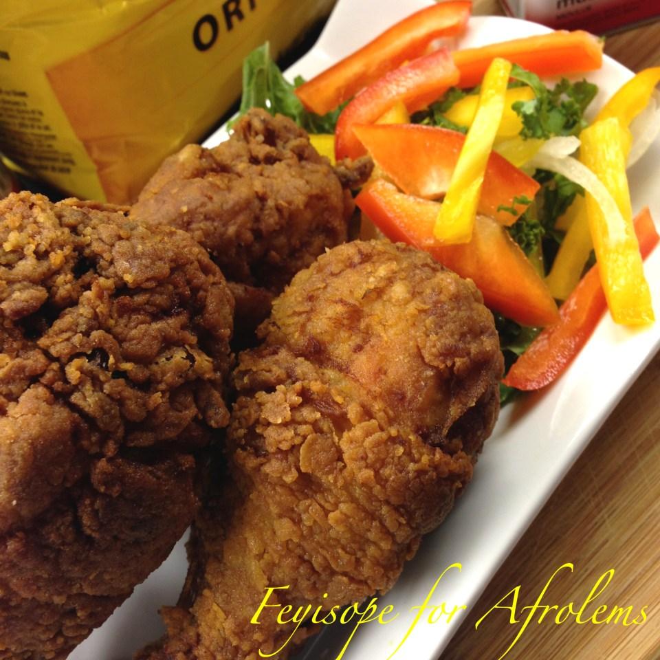 Buttermilk fried chicken afrolems nigerian food blog for Ada s fish fry