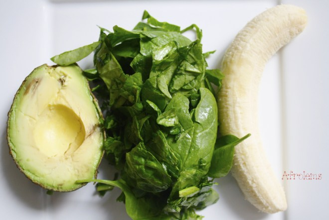 avocado spinach and banana