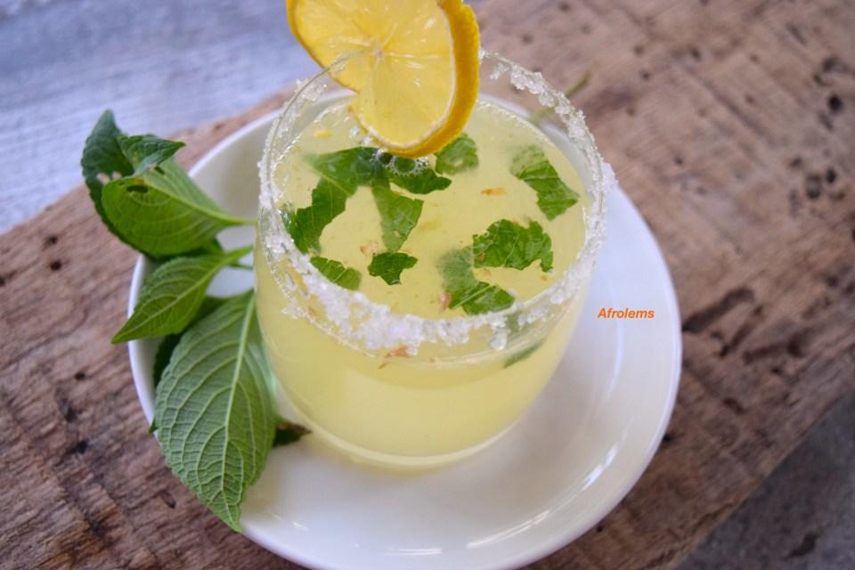 how-to-make-scent-leaf-lemonade