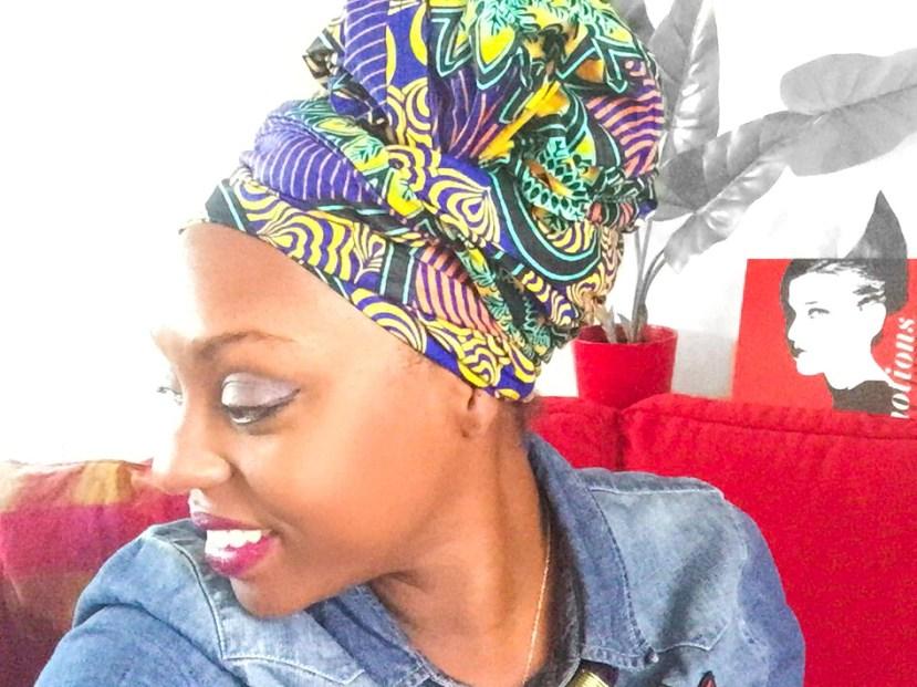 483ed2de3037 AFROLIFE   YOUTUBE   5 façons d attacher le foulard facile et rapide ...