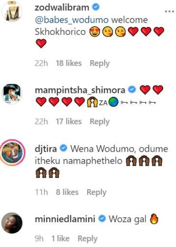 Babes Wodumo is finally back on Instagram