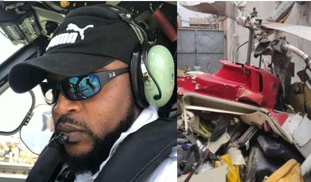 """They waited for police report until he died""- Lady mourns pilot of helicopter that fatally crashed in Lagos"