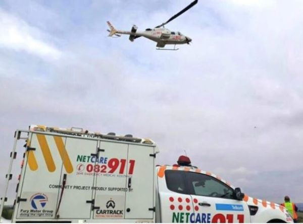 Motorcyclist seriously injured after falling off from mountain in KZN