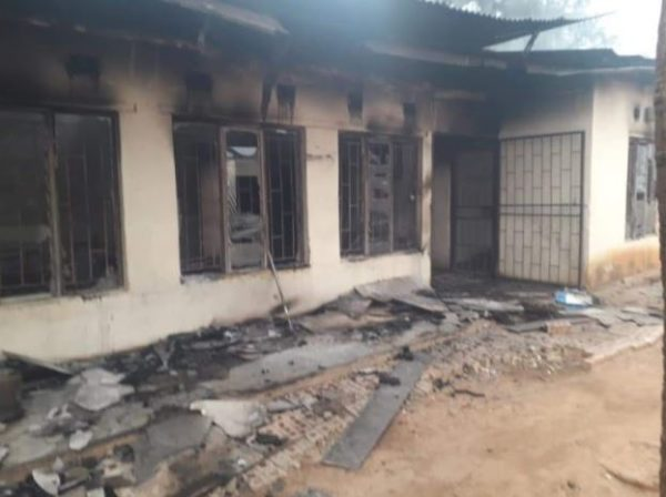 Unidentified men burn down Admin block at Mpumalanga school