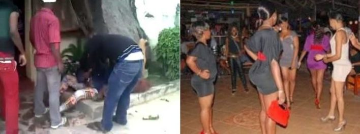 Drama As Prostitutes Allegedly Beat Evangelist To A Pulp For Preaching In Their Premises In Lagos