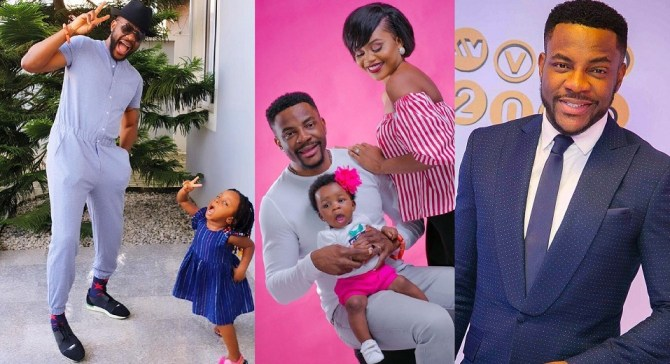 Ebuka Obi-Uchendu brags about the number of languages his three years old daughter can speaks