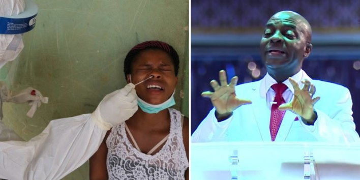 I'll lay hands 'without gloves' on COVID-19 patient for healing — Oyedepo boasts on 'eternal power'