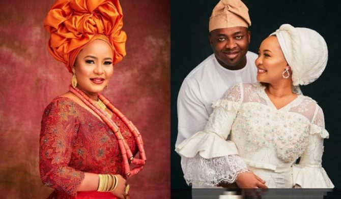 Oba Elegushi welcomes first child with Queen Hadiza