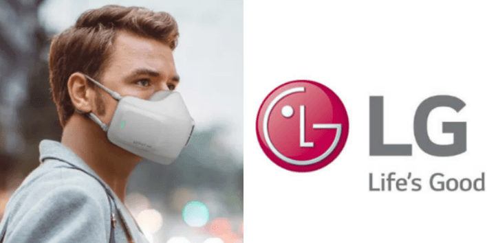Technology: Electronic giant LG creates battery-powered face mask