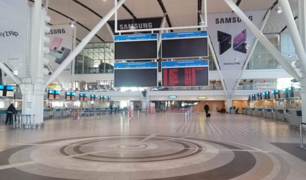 Cape Town international airport set for arrivals