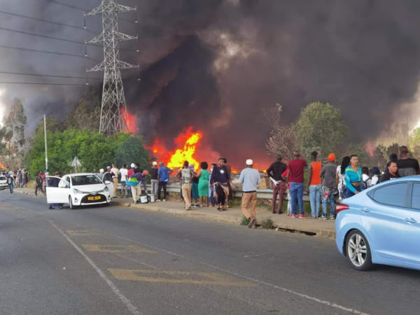 Fire burns through Maritzburg informal settlement