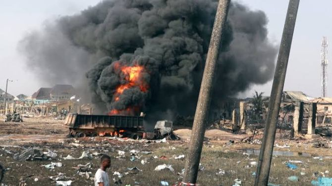 BBC uncovers real reason for Lagos explosion that claimed 23 lives