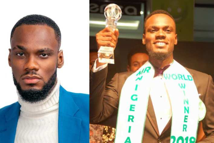 BBNaija: Prince bids housemates goodbye as he gets evicted from the show