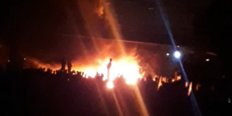 BREAKING: Many feared dead in Lagos, after late-night Tanker fire accident at Anthony (video)