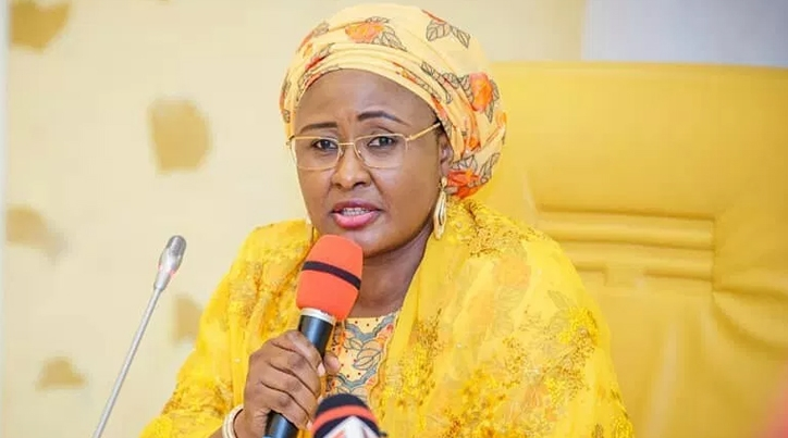 """""""God is not happy with us"""" – Aisha Buhari sends message to Nigerians as Nigeria marks 60th anniversary"""