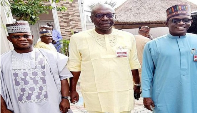 Edo 2020: Buni, Yahaya Bello, Ize-Iyamu meet in Abuja