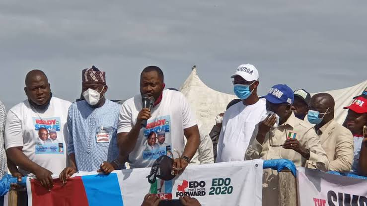 'In Edo, we retire godfathers', Desmond Elliot dragged silly after Obaseki re-election