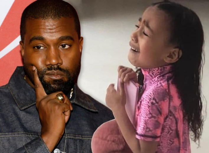 Kanye West shares disturbing tweet about getting murdered and losing his eldest daughter, North