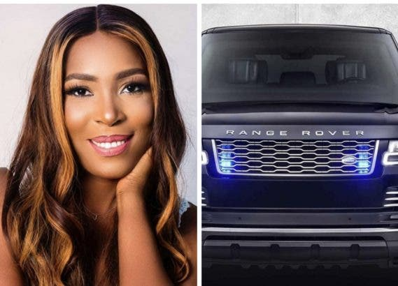 Linda Ikeji buys 2020 Range Rover Autobiography as birthday gift on 40th birthday (photo)