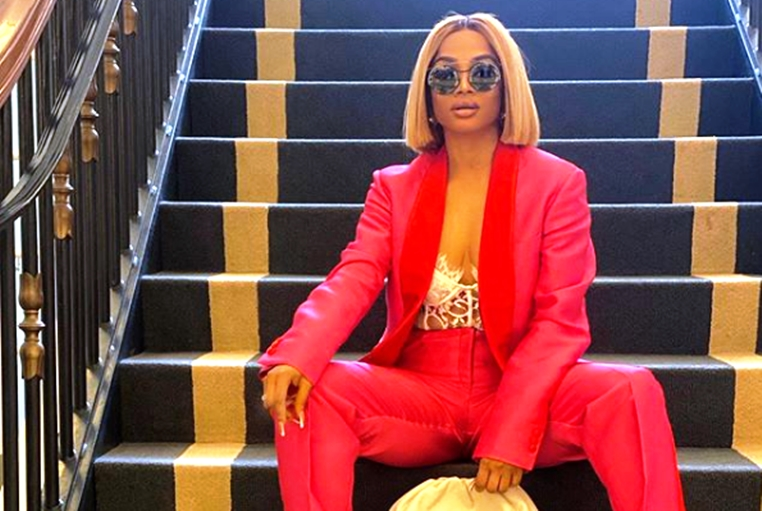 I love being a blessing to others – Toke Makinwa