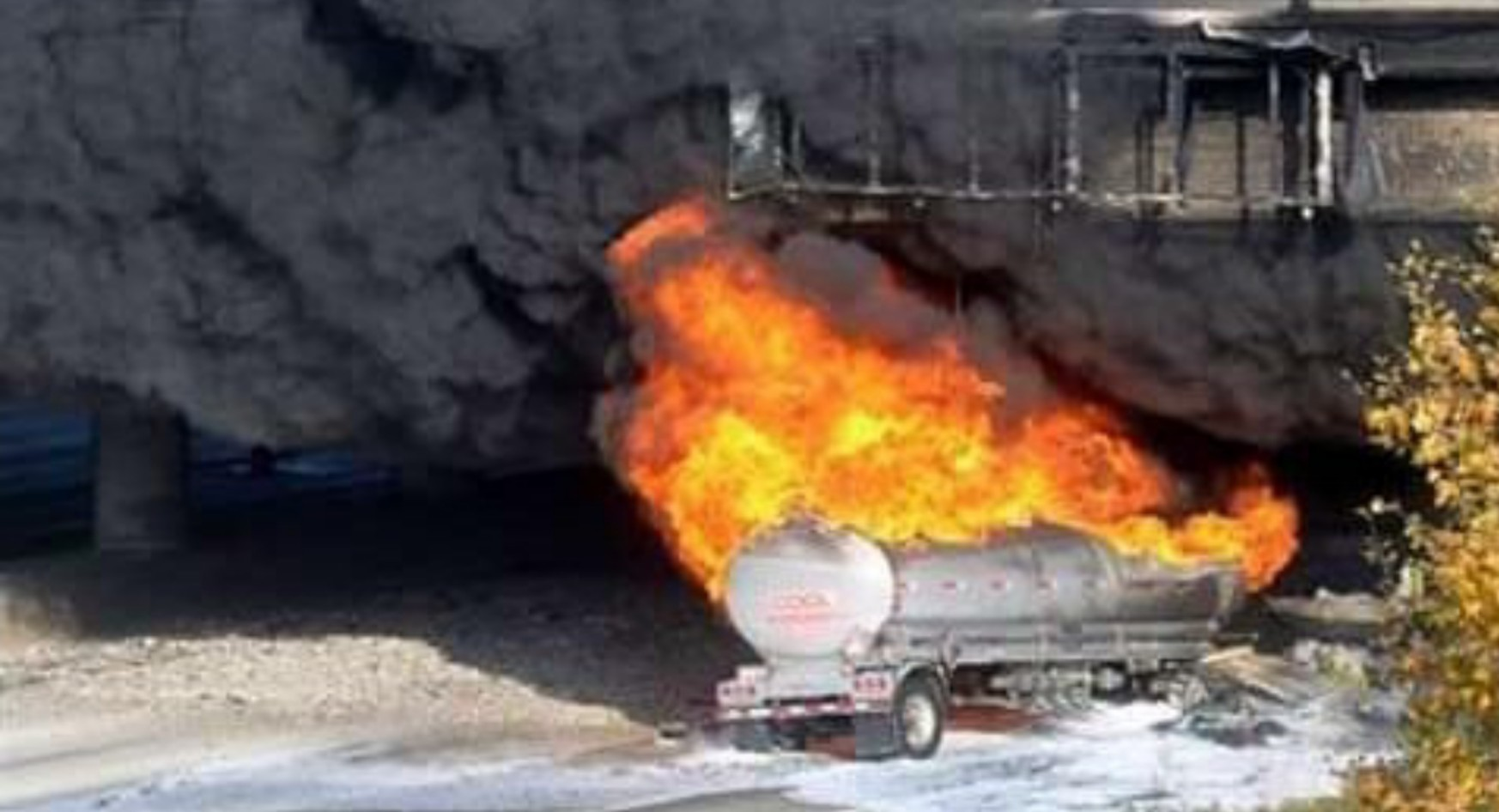 Several reported dead as petrol tanker explosion hit Kogi