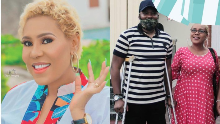 Meet the man who engaged Nollywood actress, Shan George