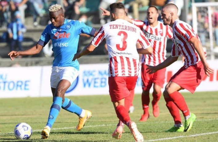 Osimhen scores second Napoli hat-trick in 4-0 win