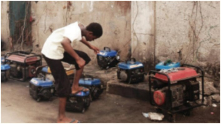 Police arrest young man for allegedly disturbing neighbours with his generator in Lagos
