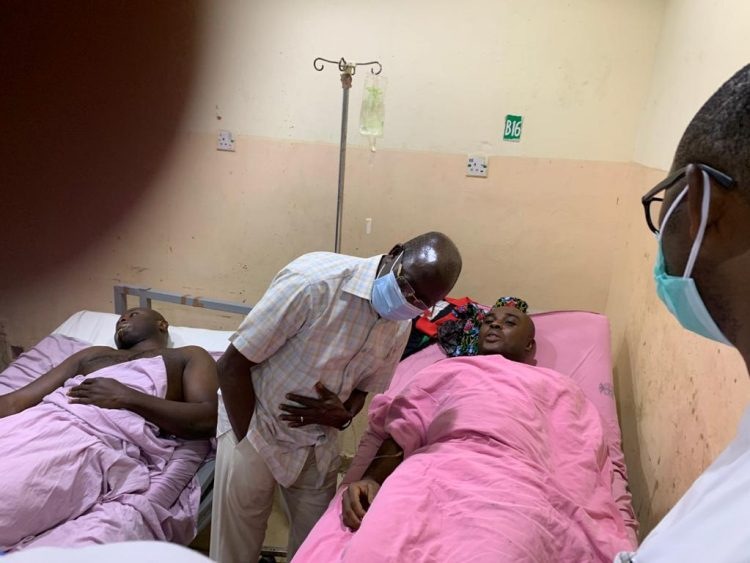 UPDATE: 2 other Aides in critical condition, more photos from Oshiomole's convoy accident