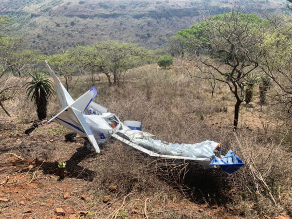 Two survivors found after light aircraft crash in Zambezi valley