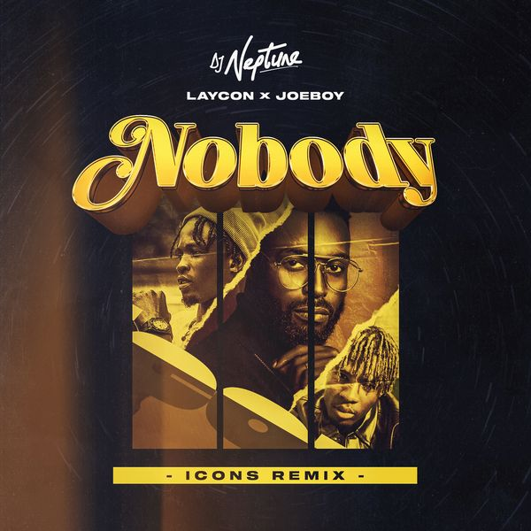 DJ Neptune Ft. Joeboy & Laycon - Nobody (Icon Remix) | Mp3 Download