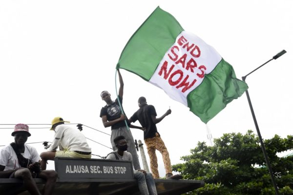 "Nigeria's Lagos declares Curfew as ""EndSARS"" protests worsen"