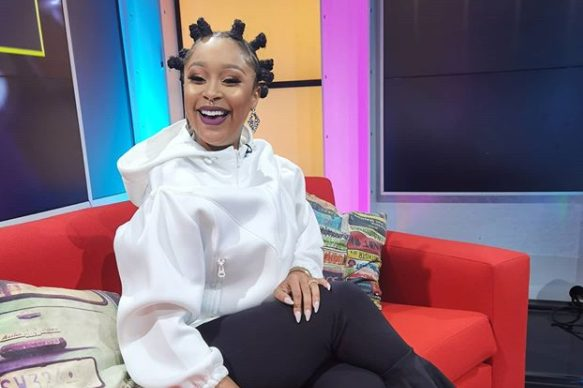 Minnie Dlamini on a road-trip to see her parents