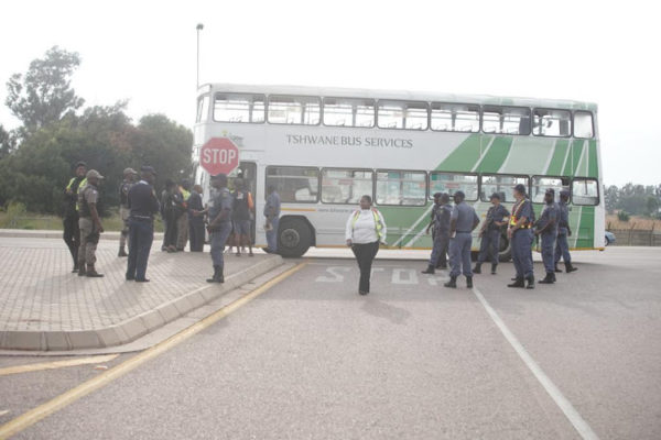 Tshwane bus service back on the road after morning disruptions