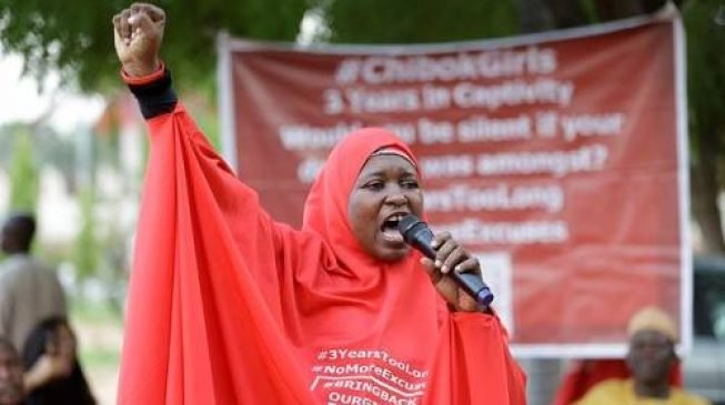 """""""The only thing left for us is to win"""" – Aisha Yesufu encourages #ENDSARS Protesters"""