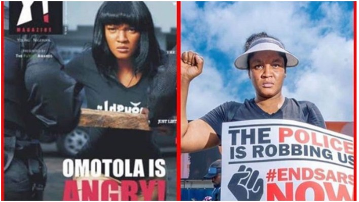 Actress, Omotola Jalade narrates one of her scary encounters with Nigerian policemen