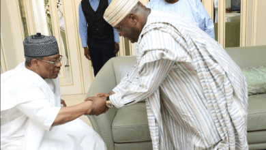 Atiku Visits Babangida In Minna