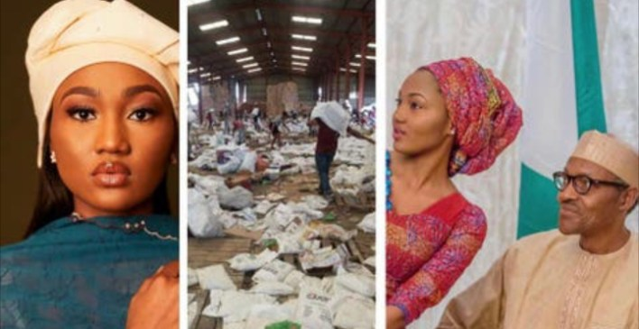 COVID-19 Palliatives: Zahra Buhari reshares a post stating that President Buhari is not Nigeria's problem