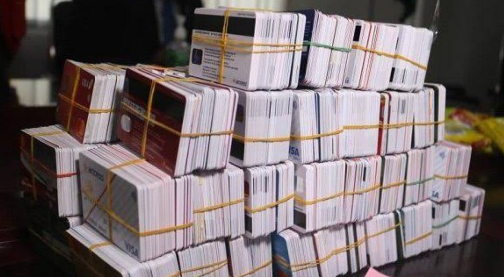 Customs arrest Dubai-bound passenger with 5,342 ATM cards in Kano