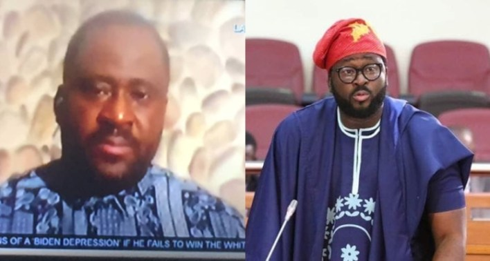 Desmond Elliot almost in tears as he reflects on the destruction of properties at his constituency