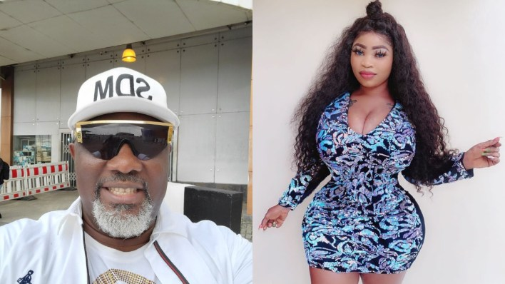 Roman Goddess apologizes for sharing hotel room video with Dino Melaye