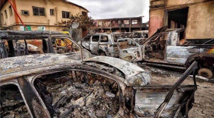 EndSARS: Lagos Police arrest 229 suspects over arson, murder, stealing, others