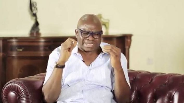 Fayose reacts after hoodlum reportedly removes his cap at PDP rally in Ondo