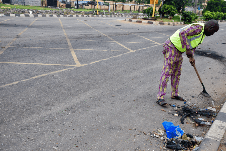 PHOTOS: ATMS vandalised, 63 buses burnt and assets destroyed by hoodlums in Lagos