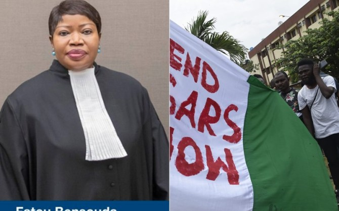 International Criminal Court Says It's Monitoring Events From #EndSARS Protests In Nigeria