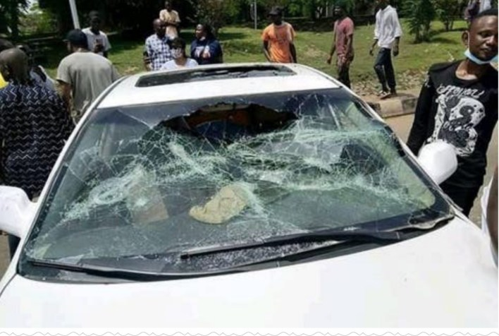 JUST IN: Car rams into EndSARS protesters in Ondo, kills one, three injured
