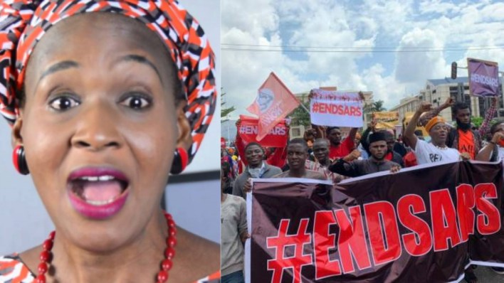 Kemi Olunloyo reveals why she does not want the government to end SARS