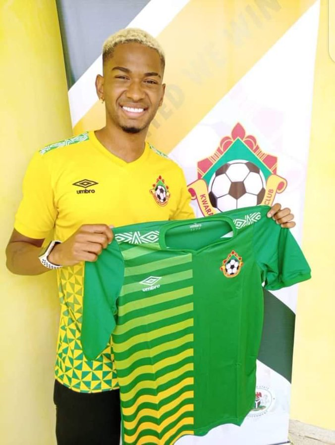 Kwara United completes signing of Brazilian star, Lucas Alves