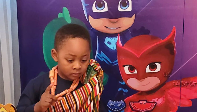 Late Ibidun Ajayi-Ighodalo's son, Zenan, celebrates his 3rd birthday (photos)