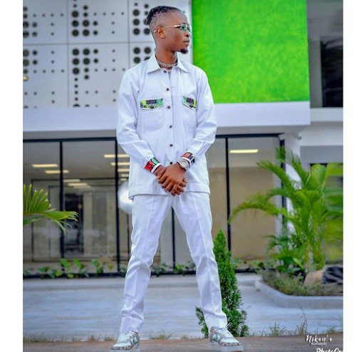 Laycon rocks green white green themed outfits to mark Nigeria's Independence Day anniversary (photos)